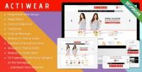 eCommerce - Actiwear - Minimal Responsive PrestaShop Theme | ThemeForest