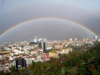 When Rainbows Embrace Global Cities