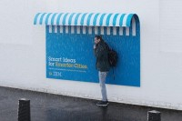Me.Show. — Smarter Ideas for Smarter Cities. IBM ambient Ads...