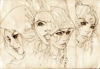 DOTA Allstars - Four Powerful Heroins by *KenshjnPark