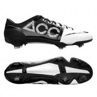 Nike Green Speed FG Concept II ACC Firm Ground White and Black-Nike GS Football Boots