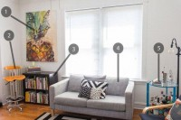 Shop the Room: Kate & Chad's Affordable Basics   Apartment Therapy