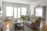 Shop the Room: Anne & Steve's Modern Pastel Living Room | Apartment Therapy