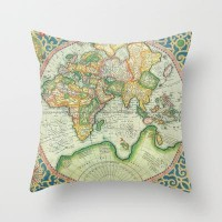 Terra Firma Throw Pillow by Catherine Holcombe | Society6