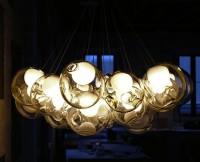 Beautiful Glass Pendants by Bocci - Pendant Chandeliers