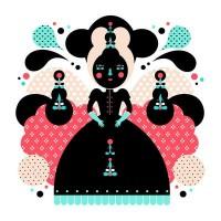 Karminne Art Print by Muxxi | Society6