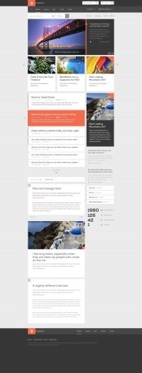 Good Inc - Web Template (PSD) - Designer First