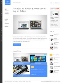 WordPress Themes ~ Magazine - Responsive Blog Theme ~ Creative Market