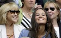 Pippa brightens up the Royal Box at Wimbledon - Telegraph