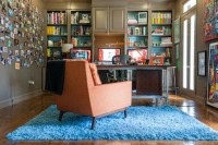 Damion's Midcentury in New Orleans Home Studio Lifework | Apartment Therapy