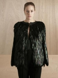 Maison Martin Margiela 01 Women's Feather Cape | LN-CC