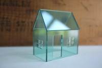 Structure in vintage coke bottle green acrylic by 2of2 on Etsy