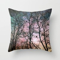the birds Throw Pillow by Sylvia Cook Photography | Society6