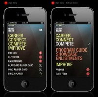 call of duty elite - iphone app on the behance network picture on VisualizeUs