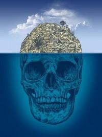Skull Island Art Print by Rachel Caldwell | Society6