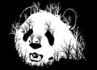 """Hidden Panda Hill"" - Threadless.com - Best t-shirts in the world"