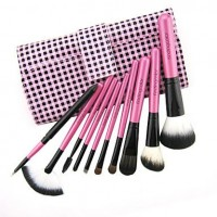 Color Shine-High Quality Wool Brush Set 10pcs - makeupsuperdeal.com