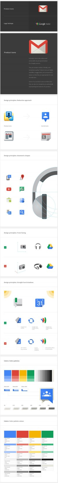 Design Inspiration: Google Visual Assets Guidelines - Part 1 - Designer First