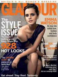 Emma Watson's October Glamour Cover (Glamour.com UK)