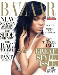"Rihanna Covers Harper's Bazaar August Issue: Star says ""I Miss My Butt"" : Celebrity : Fashion & Style"