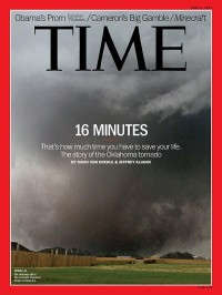 TIME Magazine Cover: 16 Minutes - June 3, 2013 - Weather - U.S. - Tornado - Emergency