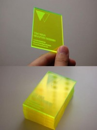 Laser Cut Business Card | Card Observer