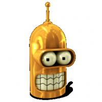 Bender, Futurama, Golden, Robot icon | Icon Search Engine | Iconfinder
