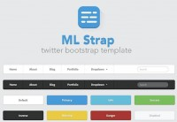 ML Strap: Twitter Bootstrap Theme | MediaLoot