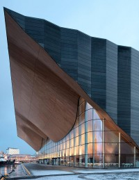 ALA architects complete the kilden performing arts center