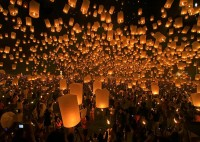 "500px / Photo ""Yee Peng Festival, Thailand"" by Sanchai Loongroong"