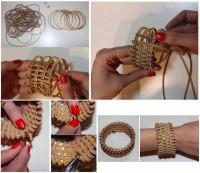 DIY Leather Wrapped Bracelet DIY Projects | UsefulDIY.com