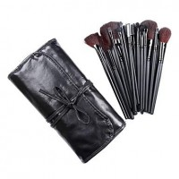 24Pcs Special Makeup Brush with Perfect Style Black Case - Worthy - makeupsuperdeal.com