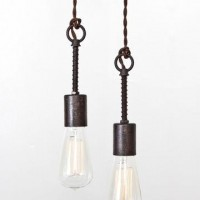 Fab.com | Industrial Spring Pendant Light