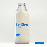 Le BleuLait - The Dieline -