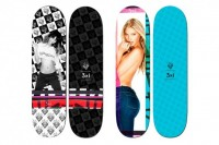 Ben Watts x 3×1 Denim 2012 Supermodel Skateboards Decks « Grind365
