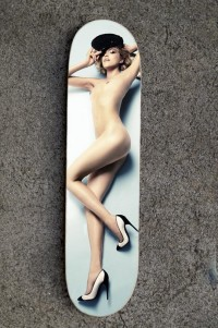Doodah 'Arizona Muse' Skateboard Deck • Highsnobiety