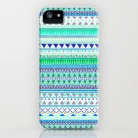 EMERALD CHENOA PATTERN iPhone & iPod Case by Nika | Society6
