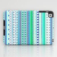 EMERALD CHENOA PATTERN iPad Case by Nika | Society6