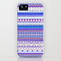 BLUE CHENOA iPhone & iPod Case by Nika | Society6