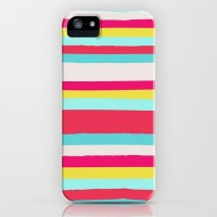 GIRLY SURF STRIPES iPhone & iPod Case by Nika | Society6