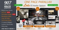 WordPress - 907 - Responsive WP One Page Parallax | ThemeForest