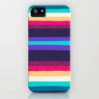 SURF STRIPES iPhone & iPod Case by Nika | Society6