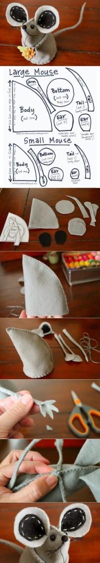 DIY Fabric Mouse DIY Projects | UsefulDIY.com