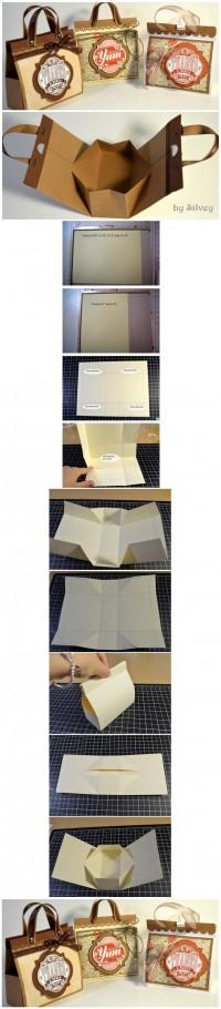 DIY Mini Paper Handbag DIY Projects | UsefulDIY.com