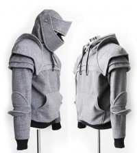 Duncan Armored Knight Hoodie100 Handmade Made To par iamknight