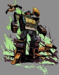 What If The Transformers Were Dapper Steampunk Robots