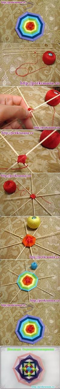 DIY Weave Mandala DIY Projects | UsefulDIY.com