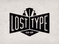 Designspiration — Dribbble - Lost Type Logo by Riley Cran