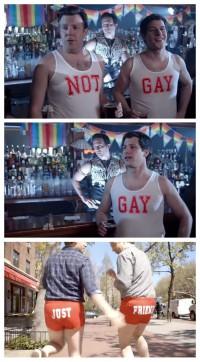 Not Gay Tank Tops Jason Sudeikis and Andy Samberg