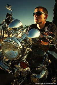 Biker Man Portrait – Motorcycle Lifestyles - 54ka [photo blog]